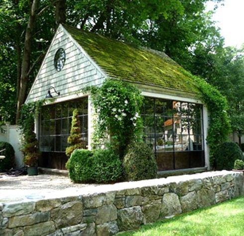 Mossy garden studio