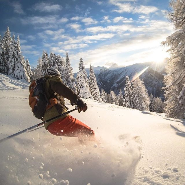 Photo of the Day! @coberschneider captured this at the end of a #powder day in…