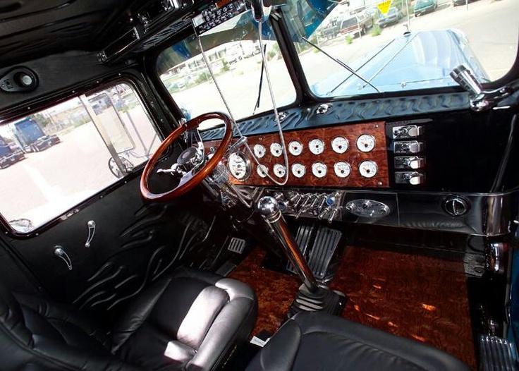 Inside The Cab Of A Custom 1954 Kenworth Trucks