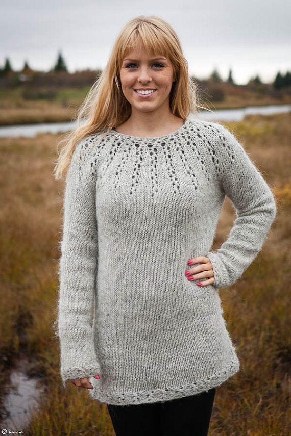 Icelandic Wool Tunic by unneva on Etsy, $160.00