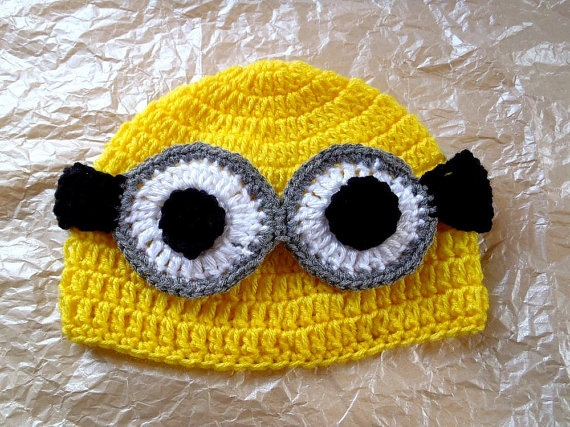 @Shannon Bellanca Bellanca Reynolds  despicable me minion hat for Ireland's belated birthday present (:    PLEASE BUY ME THIS :(