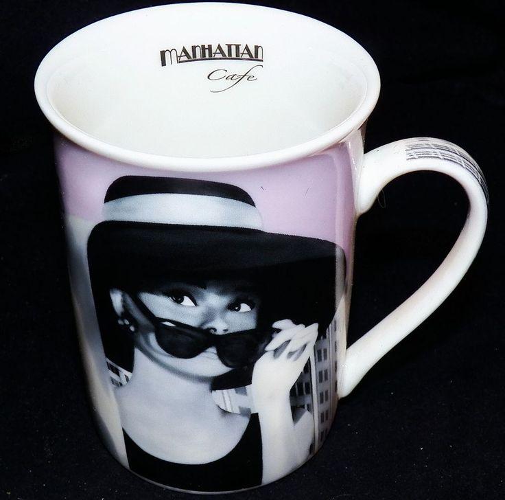 Audrey Hepburn Manhattan Cafe Finecasa Paul Cardew Breakfast at Tiffanys 9oz Mug
