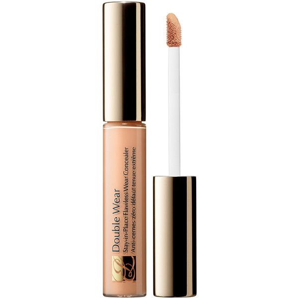 Estée Lauder Double Wear Stay-In-Place Flawless Wear Concealer (¥2,720) ❤ liked on Polyvore featuring beauty products, makeup, face makeup, concealer, mineral concealer, estée lauder, estee lauder concealer and oil free concealer