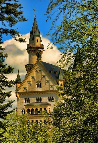 Magic Castle- This is the famous Neuschwanstein Castle in Germany.