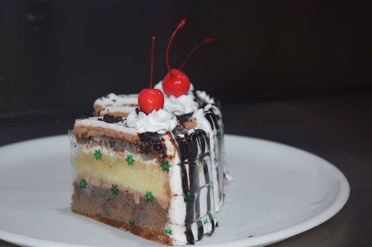 Black forest cake from corner bakery Karaikudi Tamil Nadu