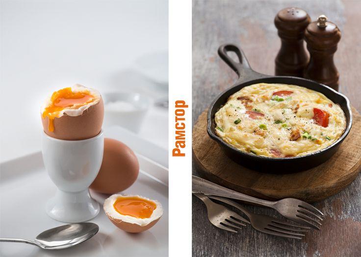 В каком виде Вы предпочитаете есть яйца на завтрак?