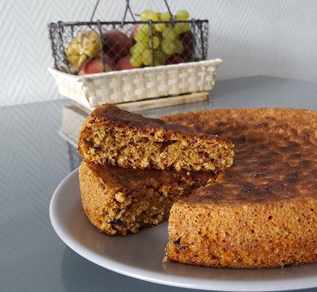 • Gâteau aux 4 noix • Recette suivie sur un paquet de céréales muesli aux 4 noix, que j'ai légèrement modifiée 😀