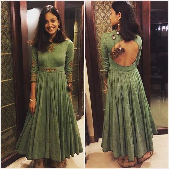 FatimaBi Indian Bridal Wedding Partywear Anarkali Kameez Dress Plus size Fashion #FatimaBi #AnarkaliKameez