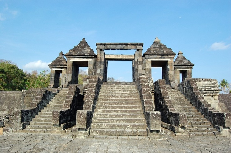 The ruin of Ratu Boko Palace