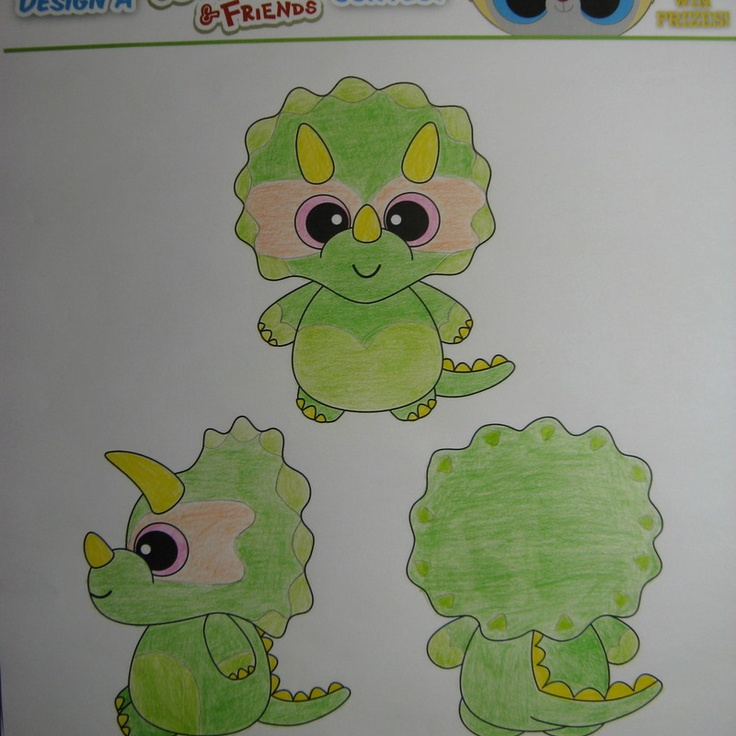 """Enter the """"Design a YooHoo & Friends Dinosaur Contest"""" and you could win a YooHoo prize pack with iPad ($1000 value) PLUS, your winning design will be turned into a limited edition YooHoo that debuts at Toy Fair 2013 in New York City!"""