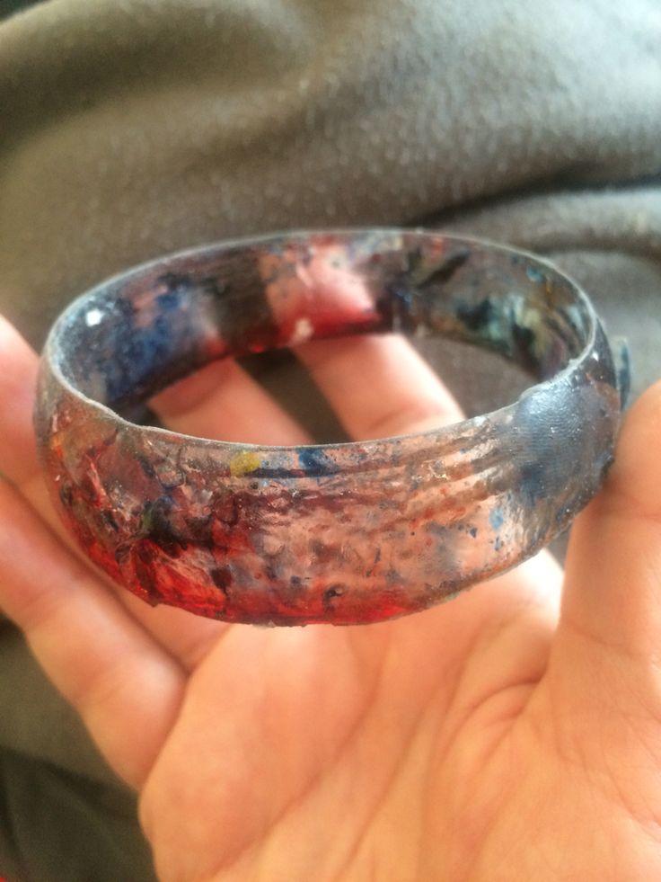 Polyester resin bracelet original version