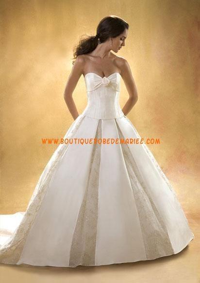Robe de mariée princesse avec traîne