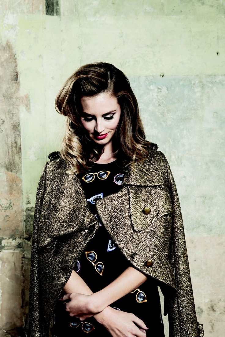 Scenezine magazine - Trelise Cooper Golden Age jacket and COOP by Trelise Cooper Flip Side dress