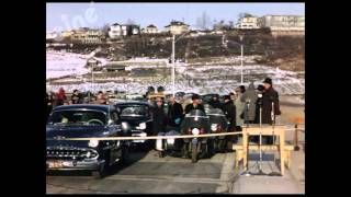 Opening of the Groat Bridge, 1955