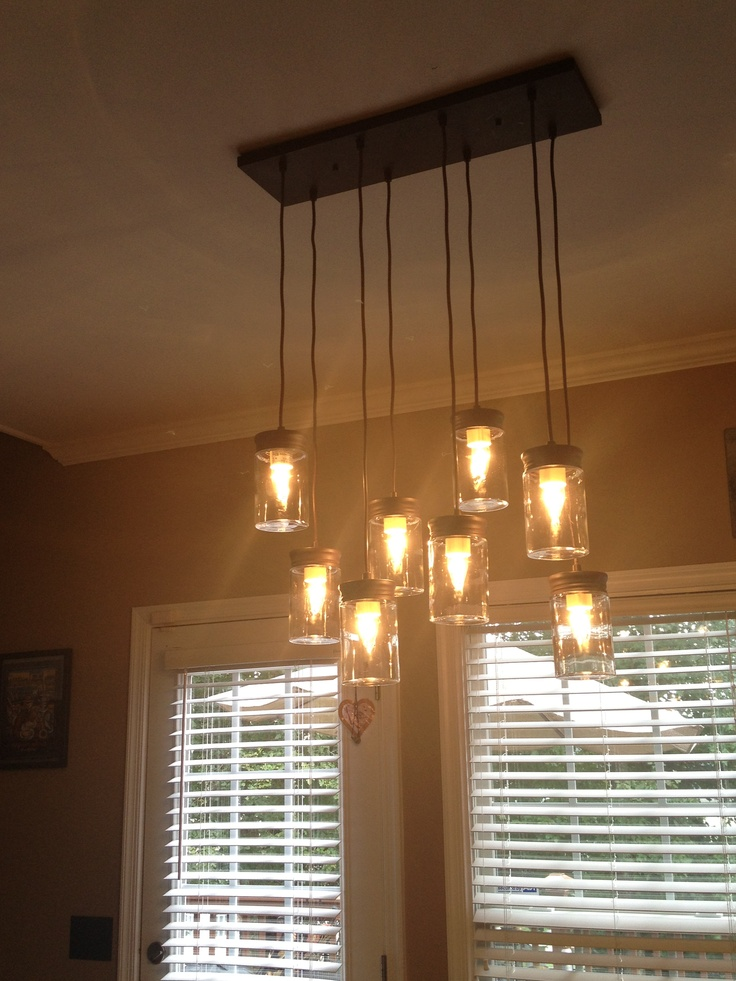 Rebuild pinterest mason jar pendant light pendant lights and m