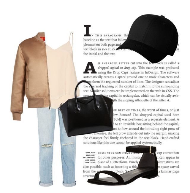 """""""❤Teenager Outfit❤"""" by puddingis ❤ liked on Polyvore featuring interior, interiors, interior design, home, home decor, interior decorating, Current/Elliott, Alice + Olivia, Givenchy and Stuart Weitzman"""