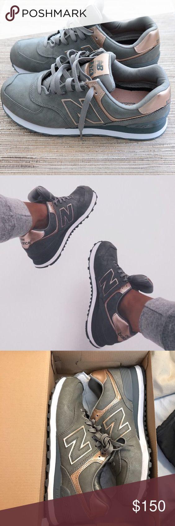 New balance Roségold und Silber Diese sind heutzutage sehr selten zu finden, besonders diese Farbgebung. Größe 7 1/2 sehr bequem, das eigentliche Paar, das ich im letzten Foto gezeigt habe ❤️ New Balance Shoes Sneakers: