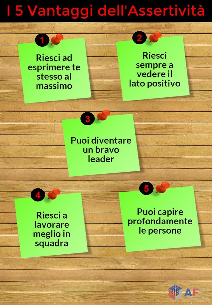 I 5 Vantaggi dell'#Assertività http://www.afcformazione.it/blog/i-5-vantaggi-dell-assertivit%C3%A0