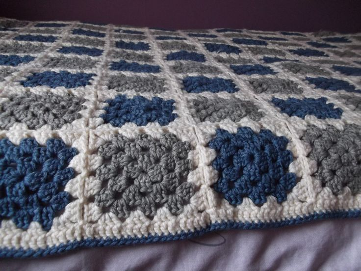 Crochet Blanket Finished at Last