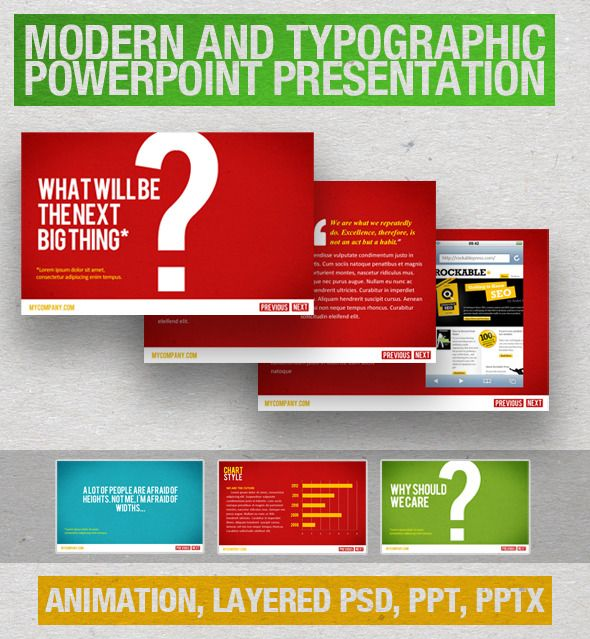 Simplistic Professional PowerPoint Template - Business PowerPoint Templates