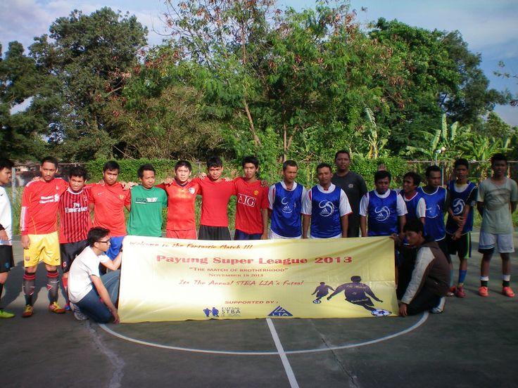Pertandingan selanjutnya antara tim Chibi-chibi (Merah) vs Esteba (Biru).