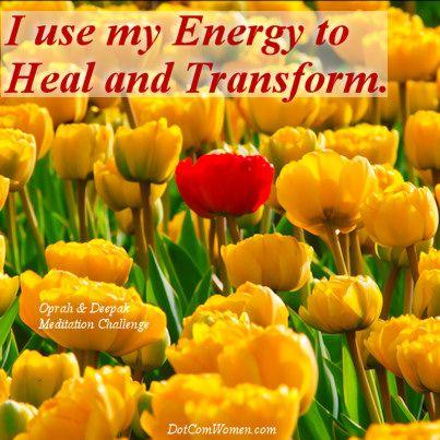 Dynamic Energy – Oprah & Deepak Meditation Challenge Day 12