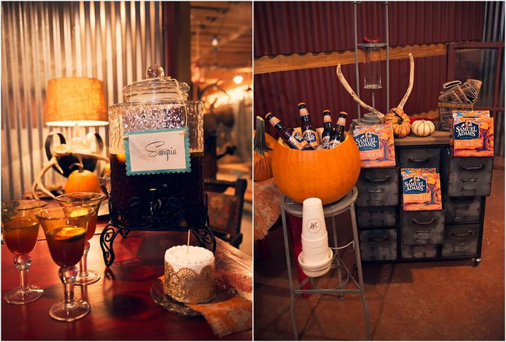 Fall Wedding Drinks ~ Top O' the Hill 'Fall Inspired Shoot'