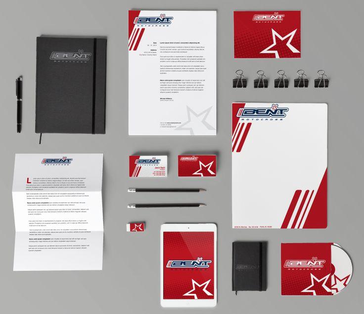 Branding I created for Bent Motocross.
