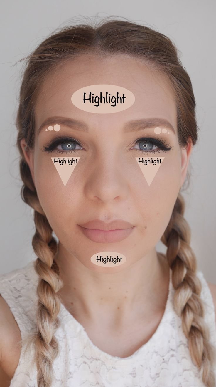 How To Contour And Highlight Correctly For Your Faceshape  Pretty 52