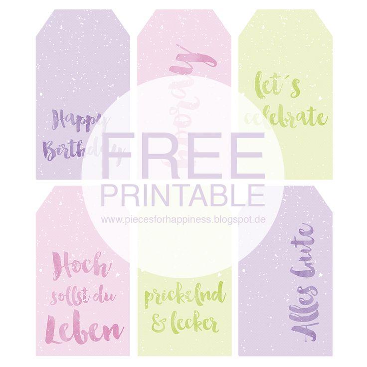 Es gibt was zu feiern - mein Blog hat Geburtstag {mit Printable als FREEBIE}