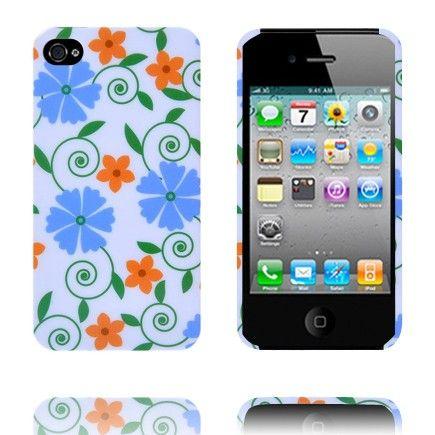 Valentine (Blomst no. 25) iPhone 4/4S Deksel lux-case.no