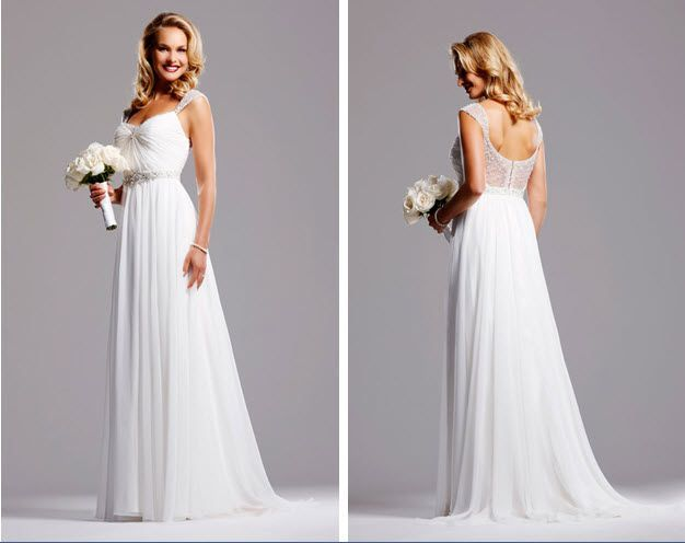 Spring 2010 Bridal Runway: David Tutera by Faviana Wedding Dresses   OneWed