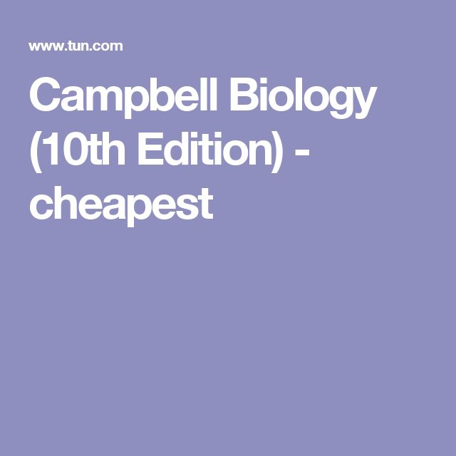The 25 best campbell biology ideas on pinterest ap biology campbell biology editionjane b reece cheapest price with the textbook save engine compare the cheapest textbook deals available find the cheapest new fandeluxe Choice Image