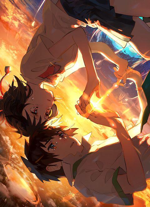 Taki and Mitsuha || Kimi no na wa