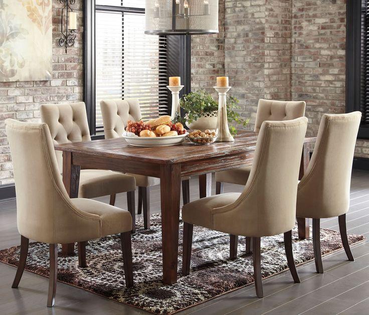 Schöne Seite, Stühle Für Esszimmer, Rustikale Ess Set