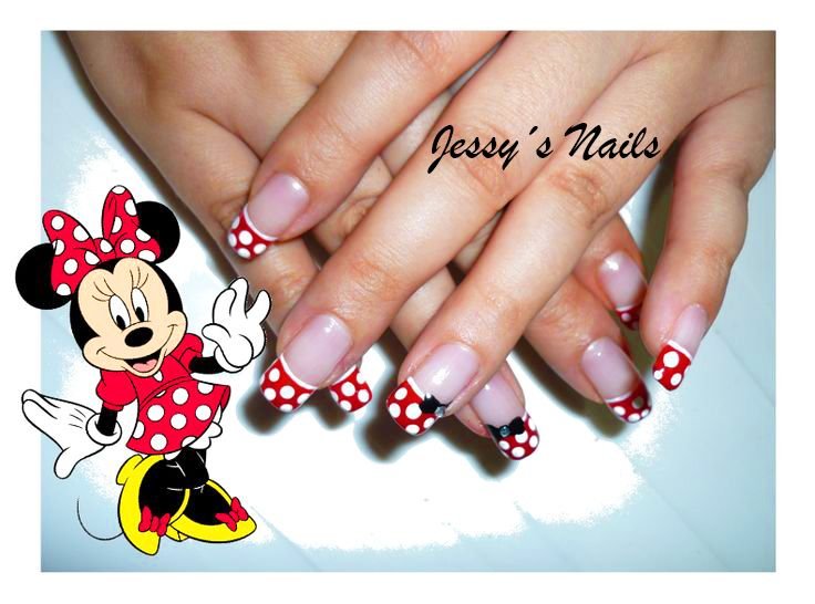 Uñas de minnie