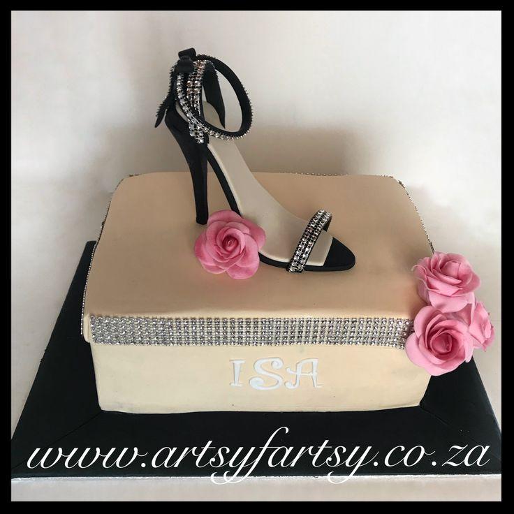 Stiletto Cake #stilettocake