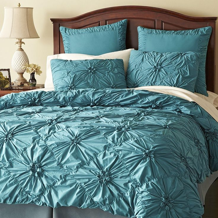 Guest Room Savannah Bedding   Teal  Pier One. 9 best bedding images on Pinterest