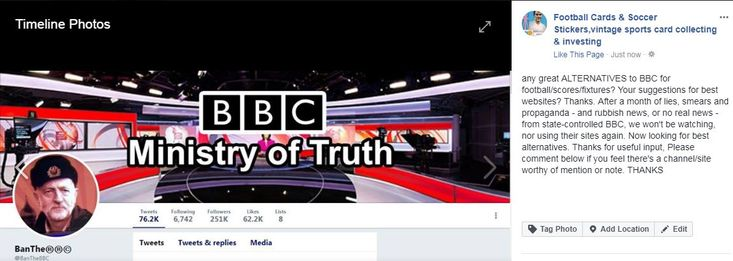 No more use for this propaganda site.  #BBCpropaganda,#BBClies