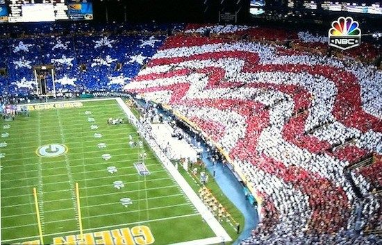 NFL Kickoff game at Lambeau Field - awesome!