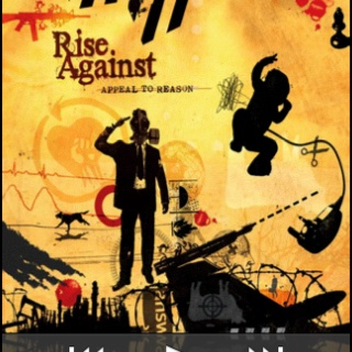 Rise against- absolute favorite rock band ever!  Saw them live in Holland for crying out loud... one of the best days of my life!  <3