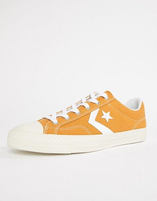 b661aec55a0 Converse Star Player Ox Sneakers In Yellow 161568C in 2019 | GIFTS ...