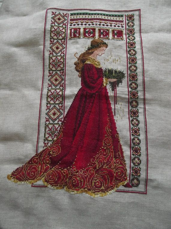 Crossstitch Noel from Lavender and Lace by ClarksonValley ...