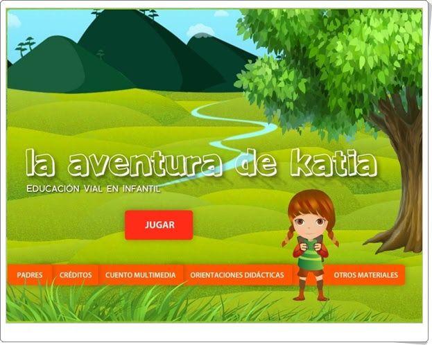 """""""La aventura de Katia"""" (Educación Vial de Infantil)"""
