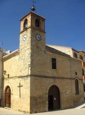 Iglesia Parroquial de Nuestra Señora de la Fuensanta.Fuensanta de Martos Jaén.