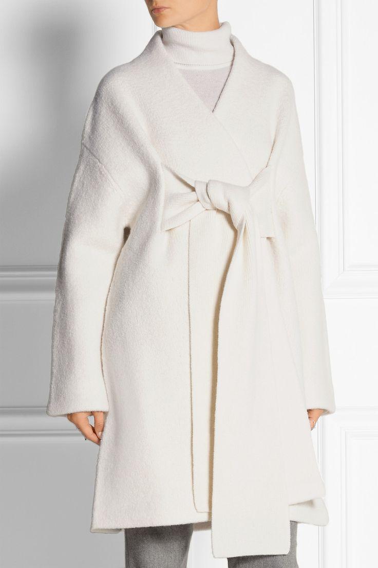 Acne Studios|Hava oversized boiled wool coat|NET-A-PORTER.COM