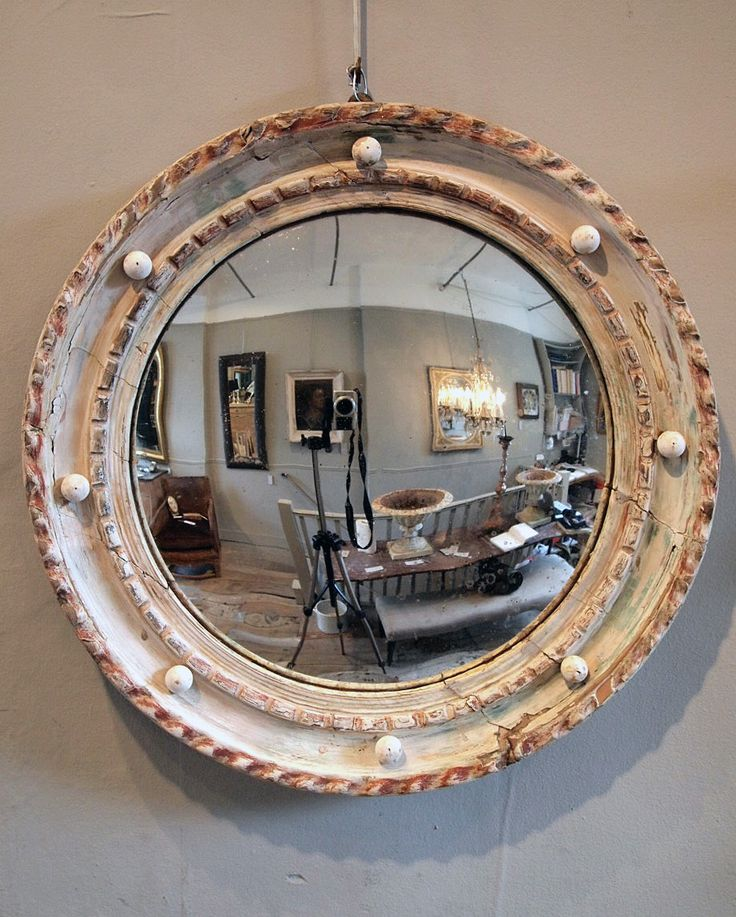 17 Best Images About Round Convex Mirrors On Pinterest