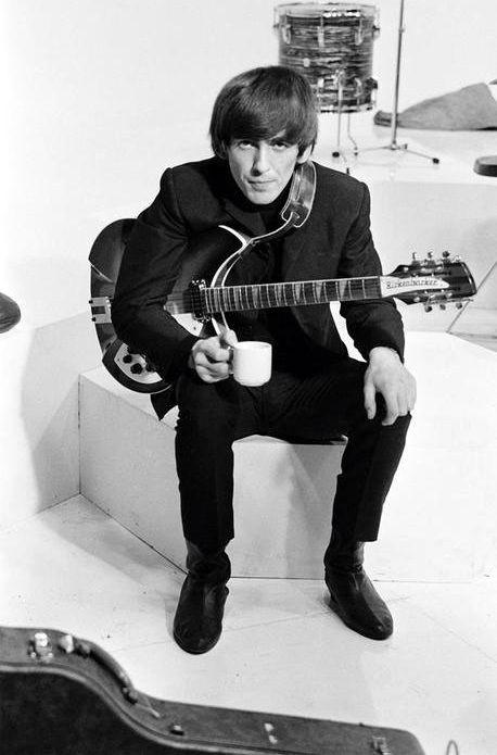 George Harrison, Lead guitarist, singer & songwriter of 'The Beatles'...