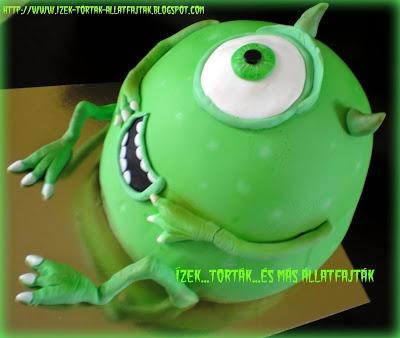 Ízek...torták...és más állatfajták: Szörnytorta, vagyis a Szörny Rt. egyszeműje