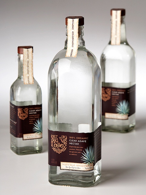 Label / Ojio Agave Nectar packaging by McLean Design